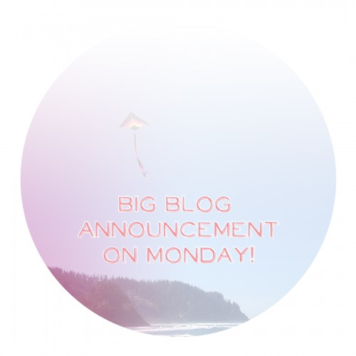 blog announcement