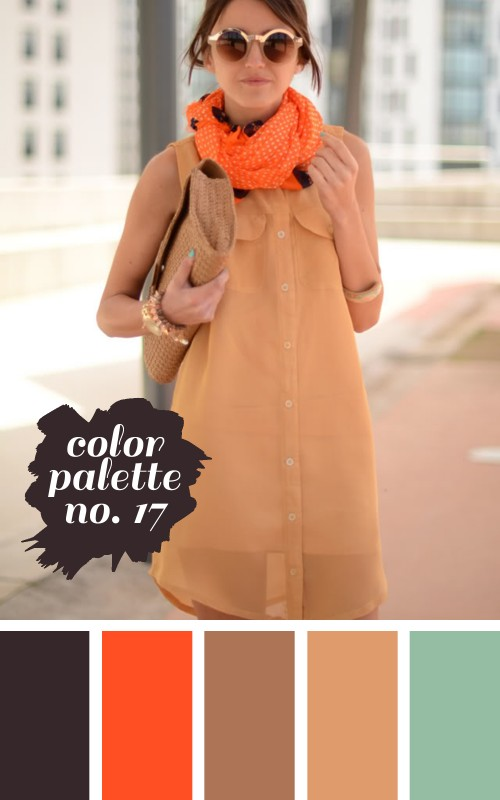 color palette no. 17