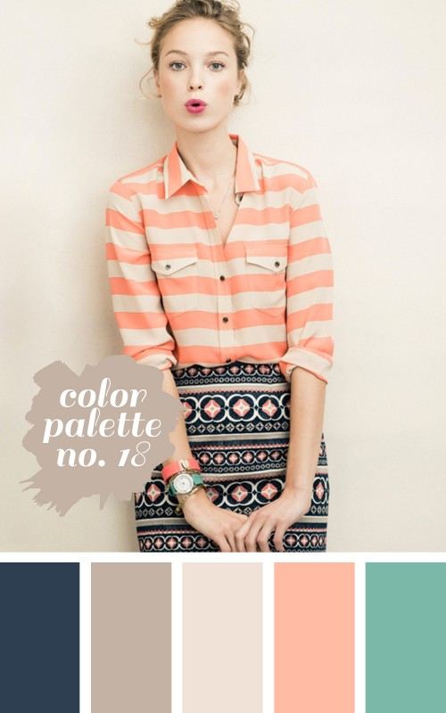 color palette no. 18