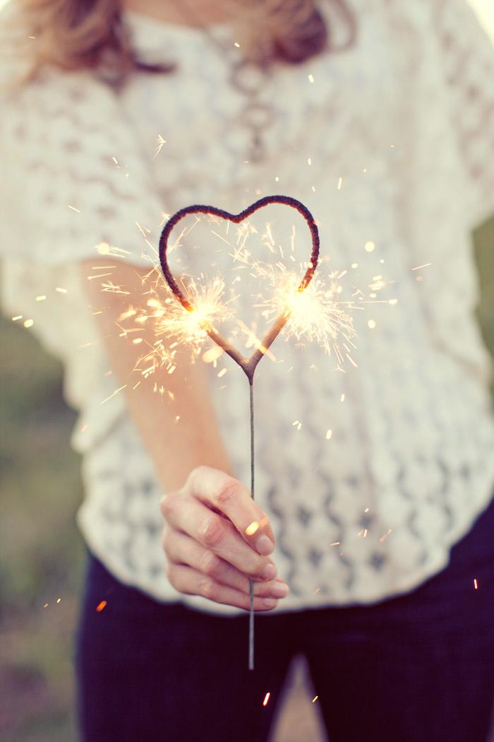 heart sparkler 2